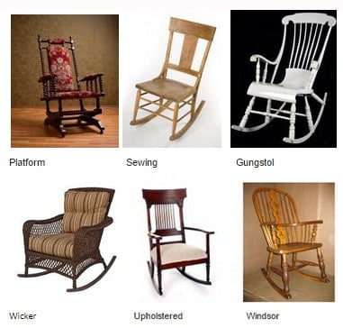 antique rocking chairs 1800s