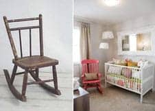 kids and mother's rocker chairs