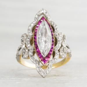 Edwardian-Diamond-Ruby-Engagement-Ring
