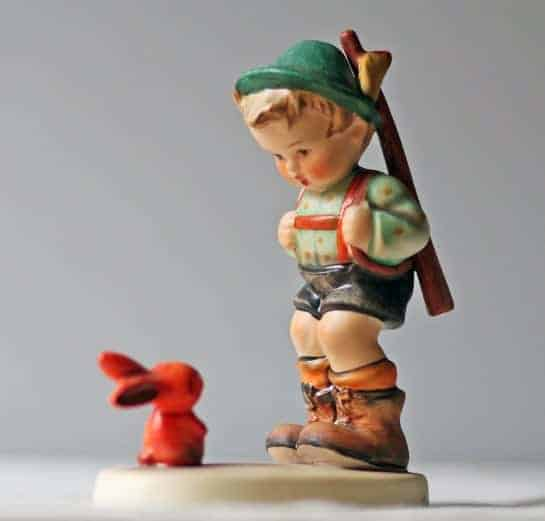 antique Hummel figurines