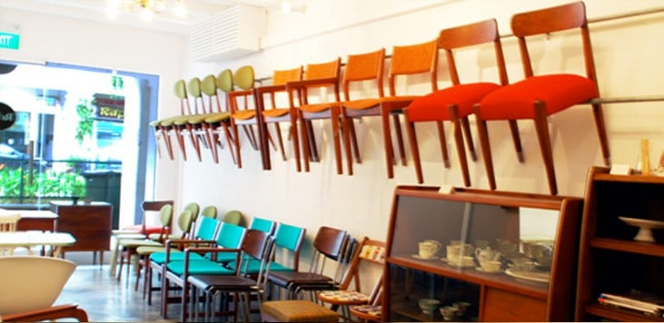List of Furniture Shops in Singapore with Vintage Collections
