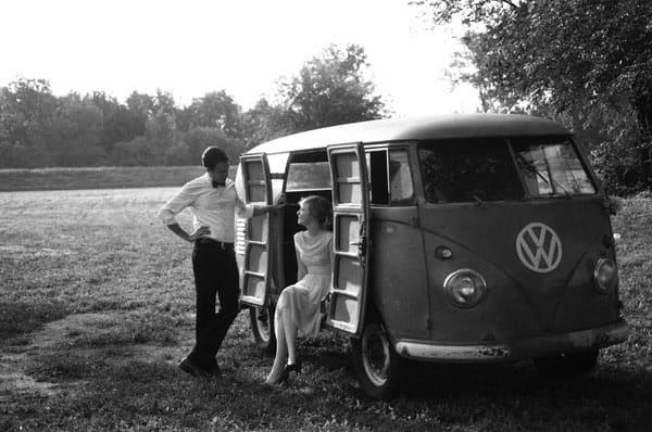 antique volkswagen beetles