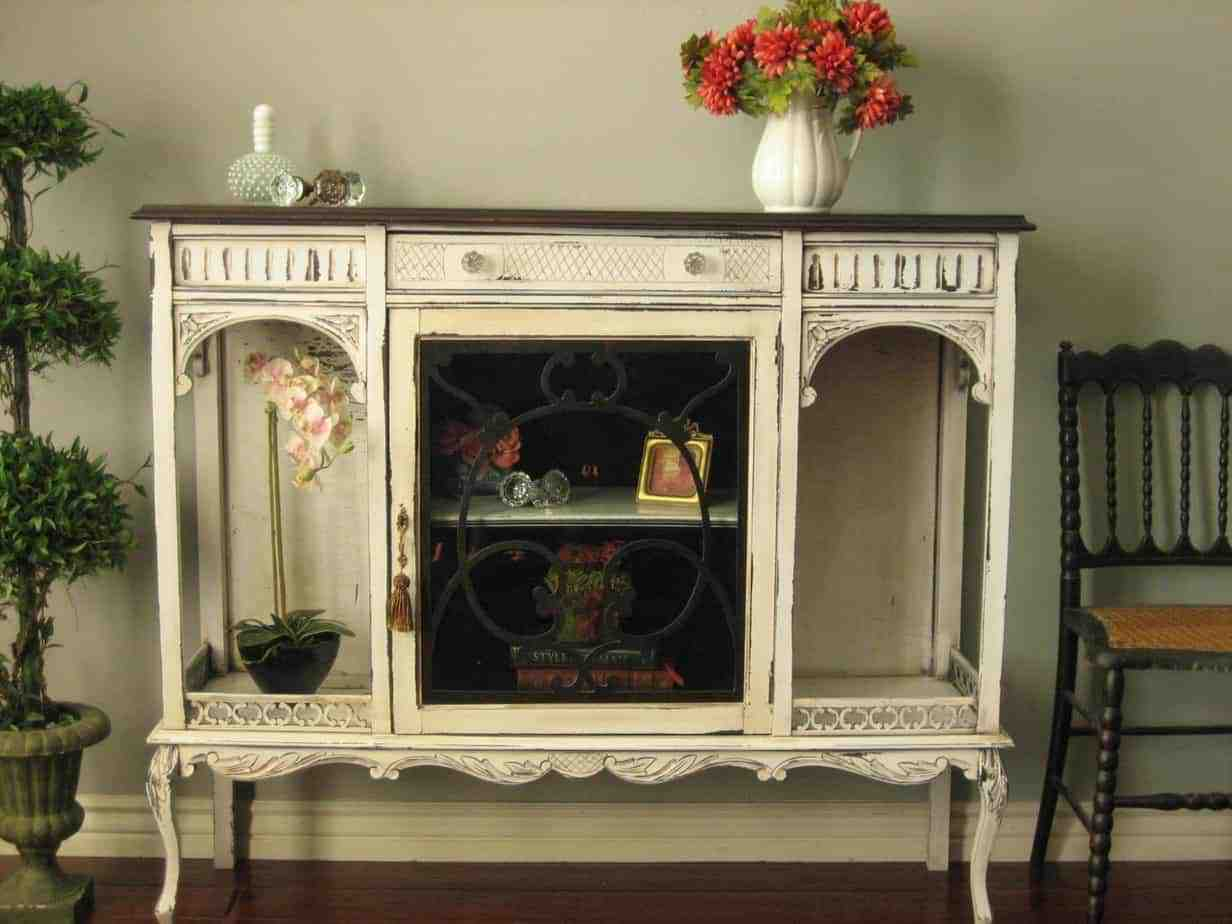 Antique Curio Cabinets
