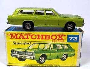 Valuable matchbox cars