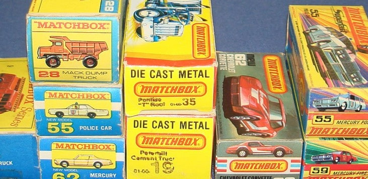 Determining the Collectibility of Valuable Matchbox Cars