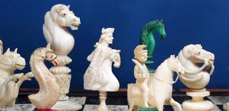 My Love Affair with Antique Chess Sets