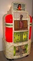 collectible rock-ola jukebox