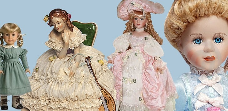 Your Antique Porcelain Dolls' Value and What It Means