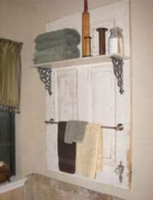 antique-doors-bathroom-organizer-accessories-board