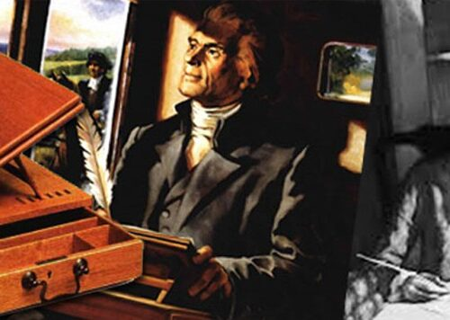 The Astonishing Story Behind Thomas Jefferson's Antique Writing Box