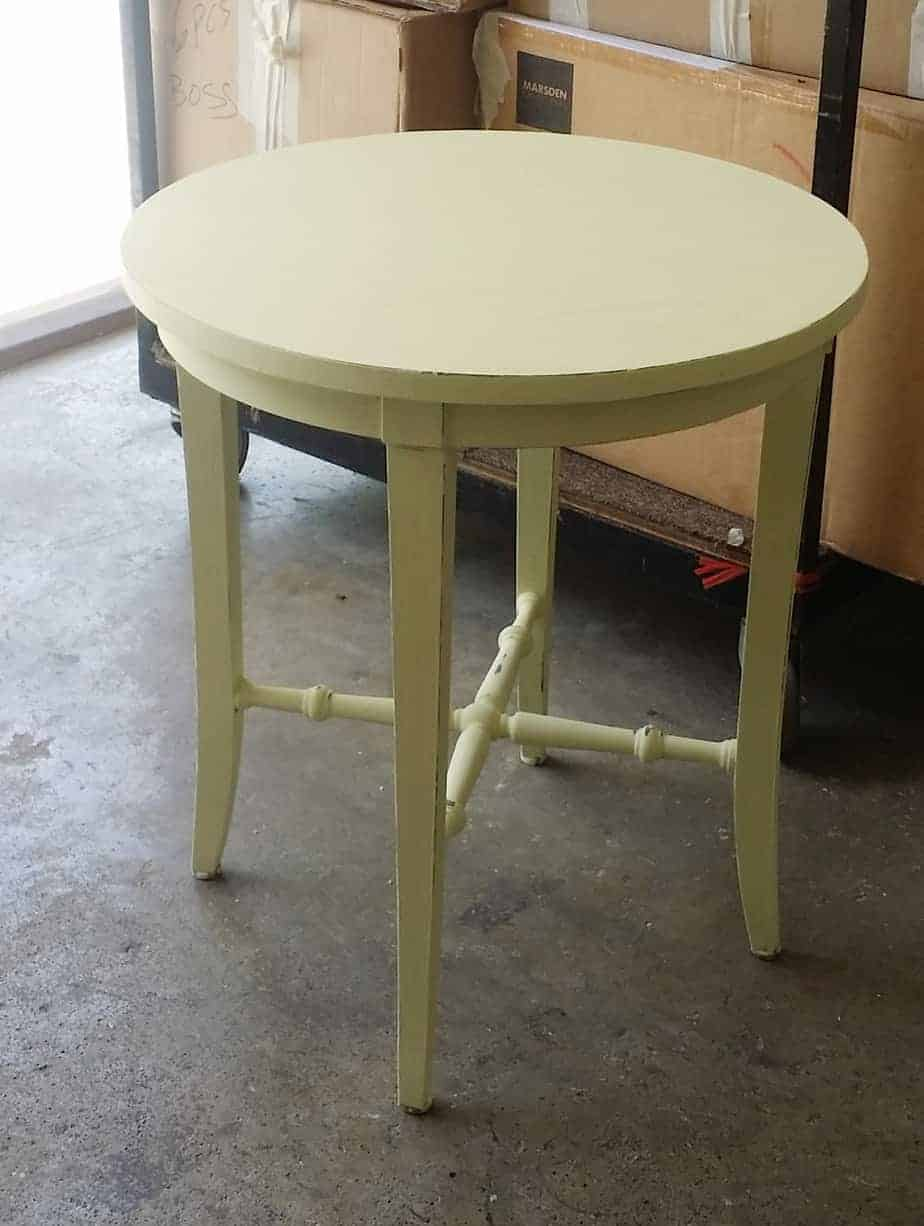 Refurnished Side Table