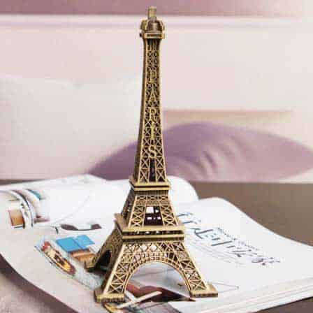 Eiffel Tower of Paris statuette