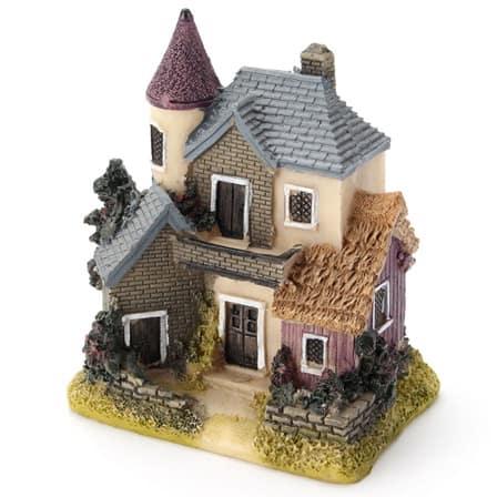 Mini Resin Retro Fairytale House Vxotic Vintage Home