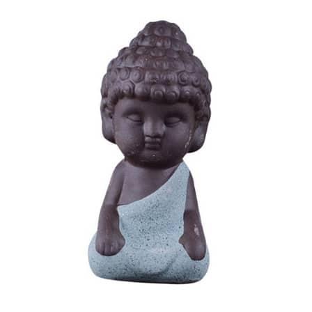 small retro buddha statue