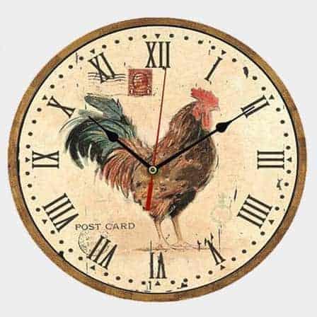 Vintage Wooden Wall Clock Vxotic Vintage Home Decor
