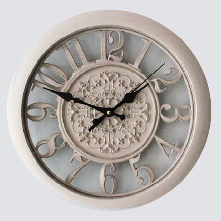 3d vintage wall clock