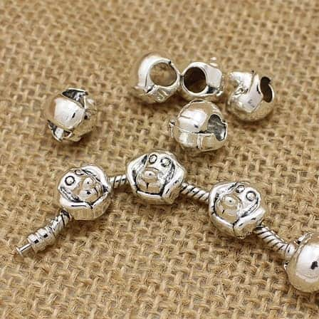 antique bead charms