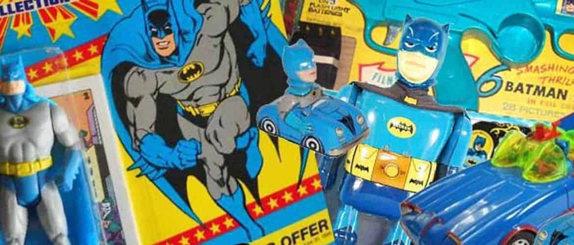 Collecting Rare, Vintage Batman Toys from the 1960s