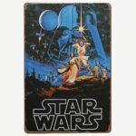 Vintage Star Wars Tin Sign
