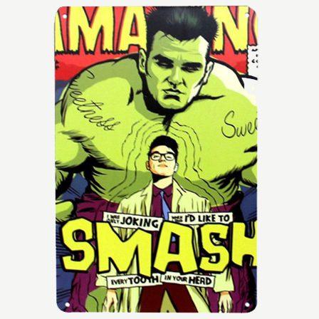 Vintage Incredible Hulk Tin Sign