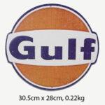 Vintage Gulf Tin Sign