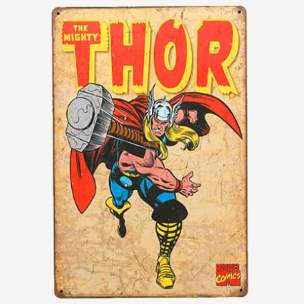 Vintage Thor Tin Sign