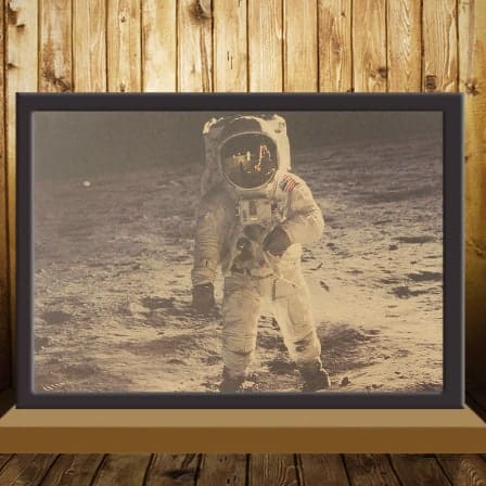 Vintage The Apollo 11 Moon Landing Poster