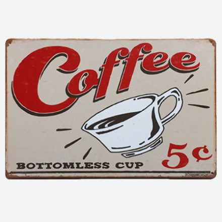 Vintage Metal Tin Signs