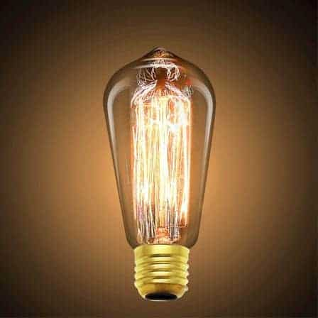 Vintage Edison Filament Light Bulb
