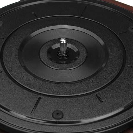retro-style gramophone/turntable