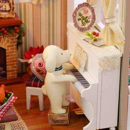 Vintage Christmas Dollhouse