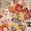 Vintage Advertisement Postcards (32 Pieces)